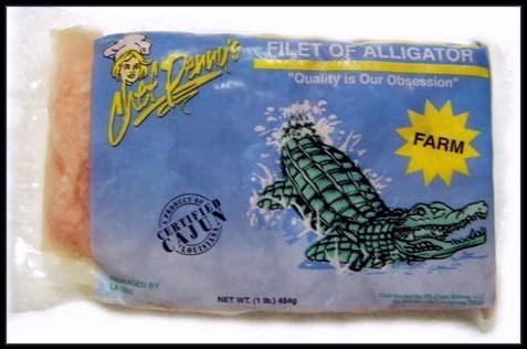 alligator filet