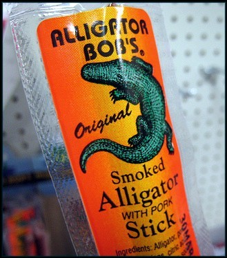 alligator stick