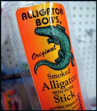 alligator stick