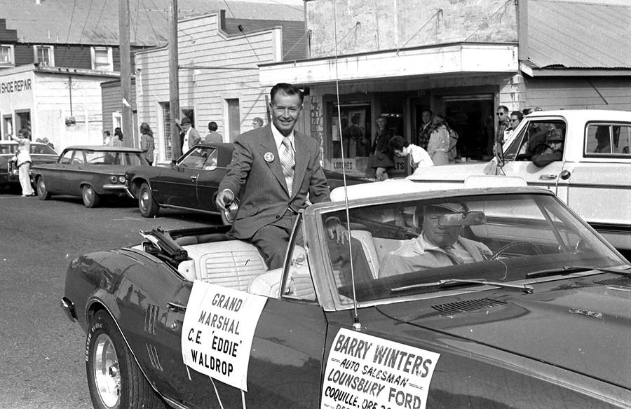 1973 Cranberry Festival parade