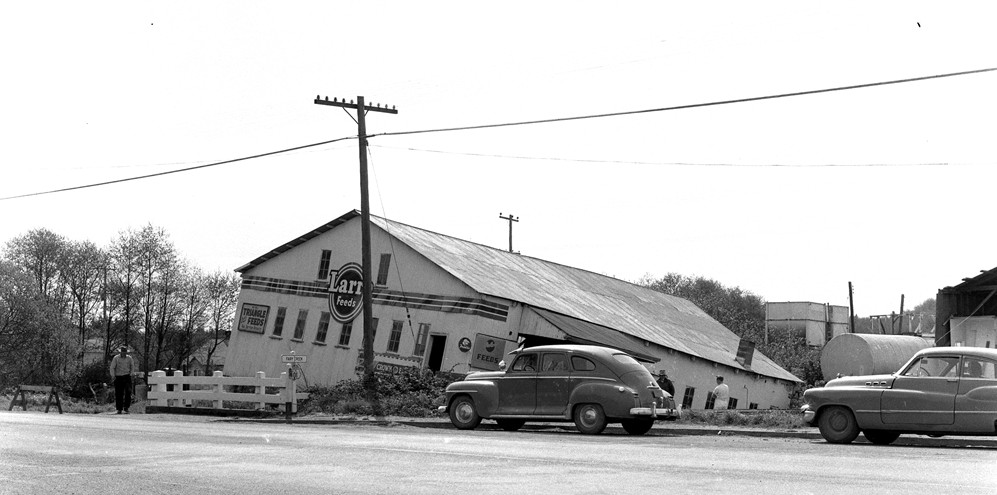 Albers Feed Store, 1956