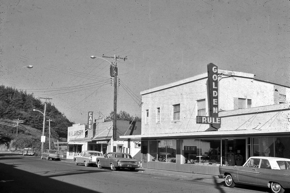 Golden Rule department store, 1964