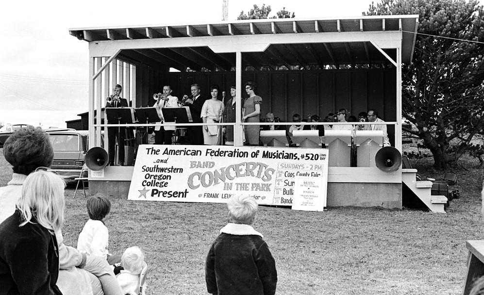 Concert in City Park, 1966