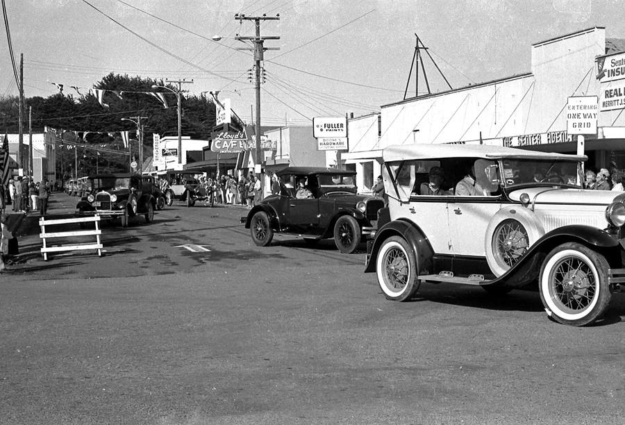 1972 Cranberry Festival parade