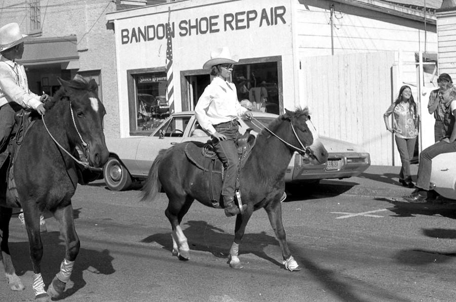 1971 Cranberry Festival parade