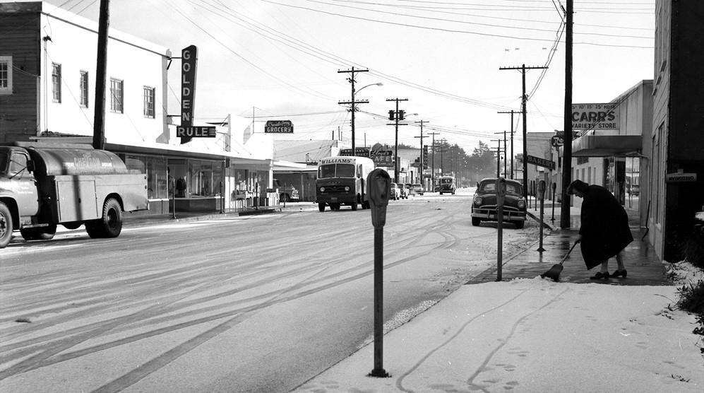 Golden Rule department store, 1956