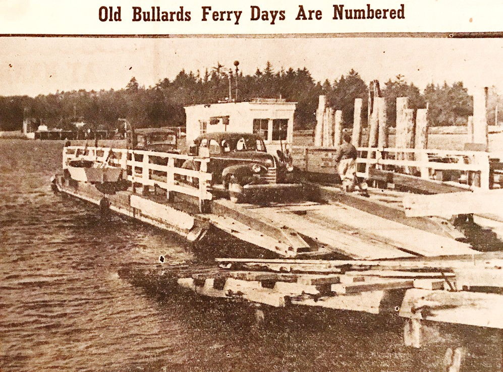 Bullards Ferry, 1952