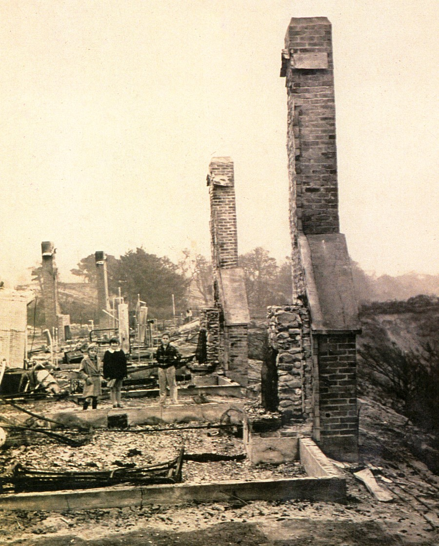 The day after the Fire of 1936