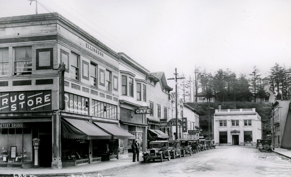 Downtown Bandon, 1920s