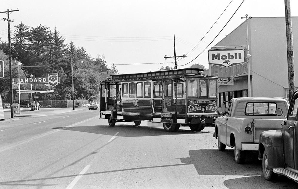 Trolley in Bandon, 1966