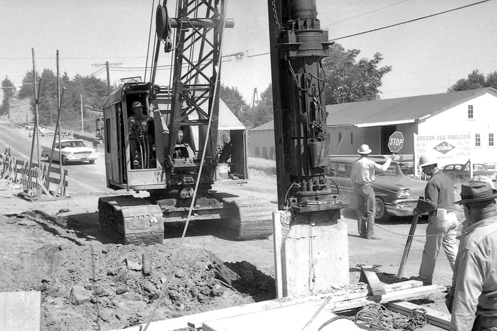 Highway work, 1962