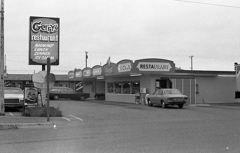 Gerry's Restaurant, 1976