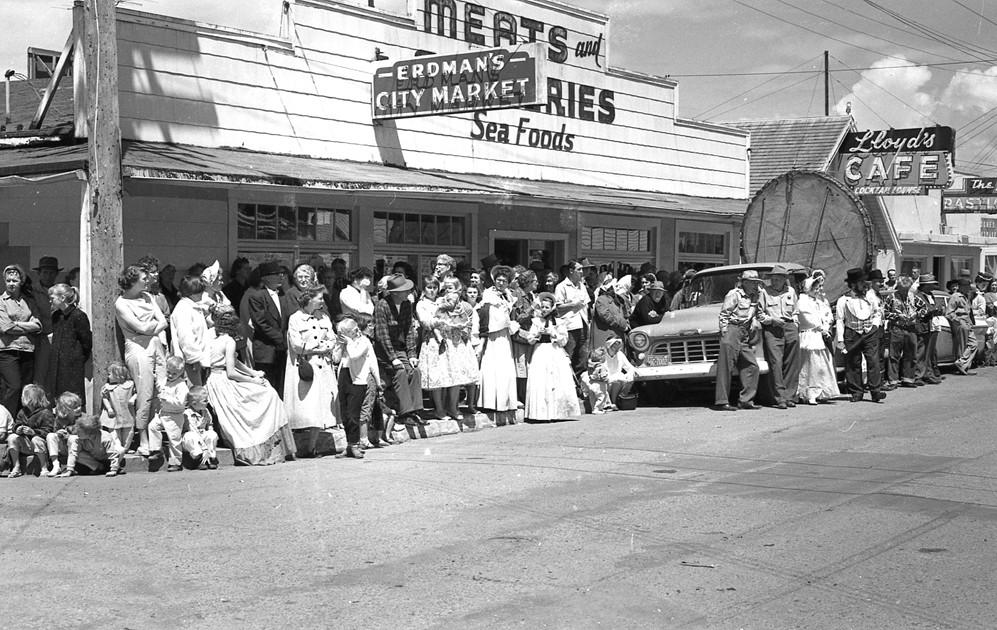 Bandon�s Oregon Centennial kickoff, 1959