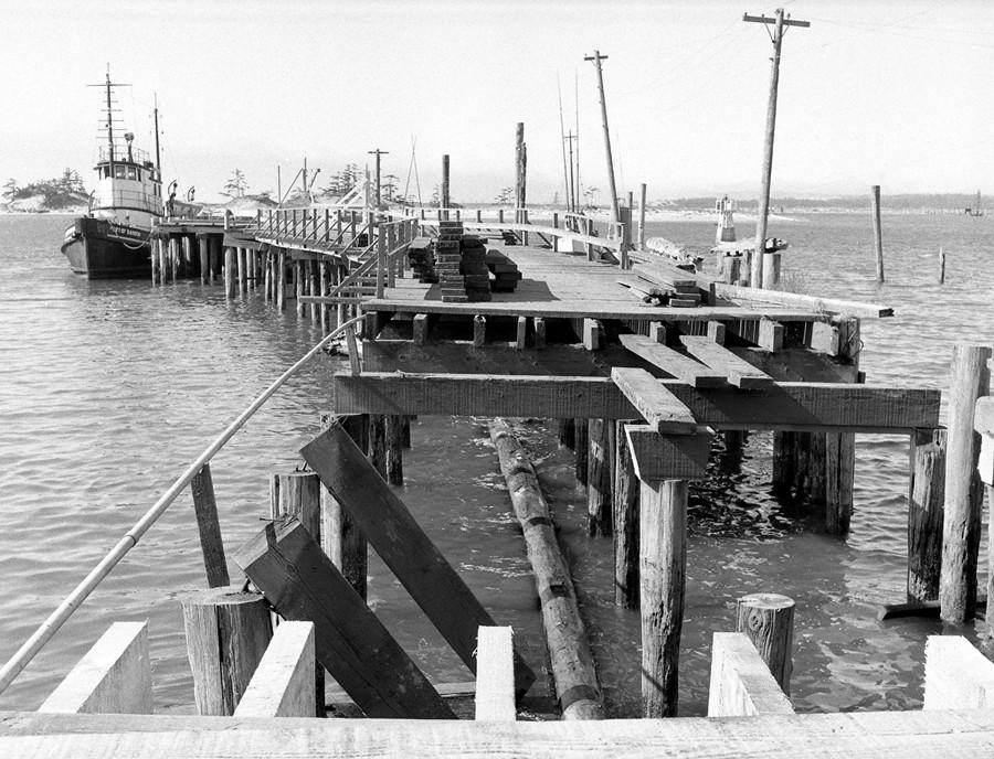Bandon Street Dock, 1956