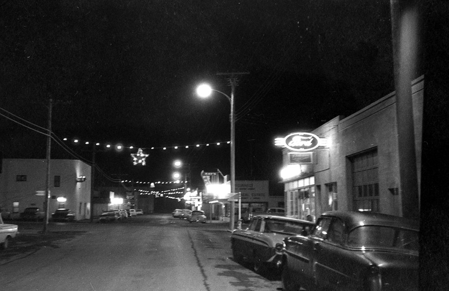 Decorated for Christmas in 1962
