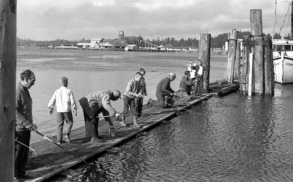 Fishing for smelt, 1962