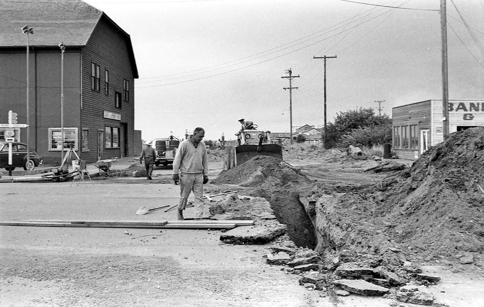 Fillmore Avenue sewer installation, 1962