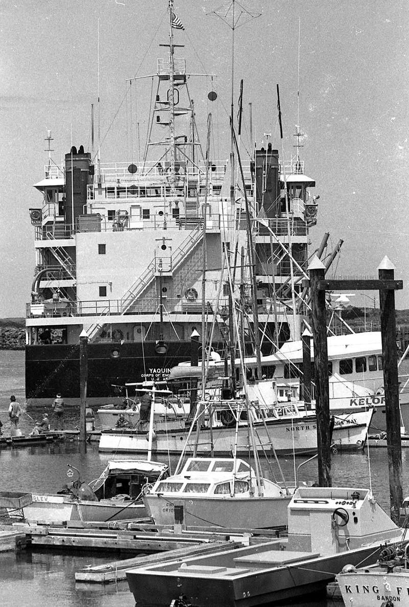 Yaquina dredge, 1981
