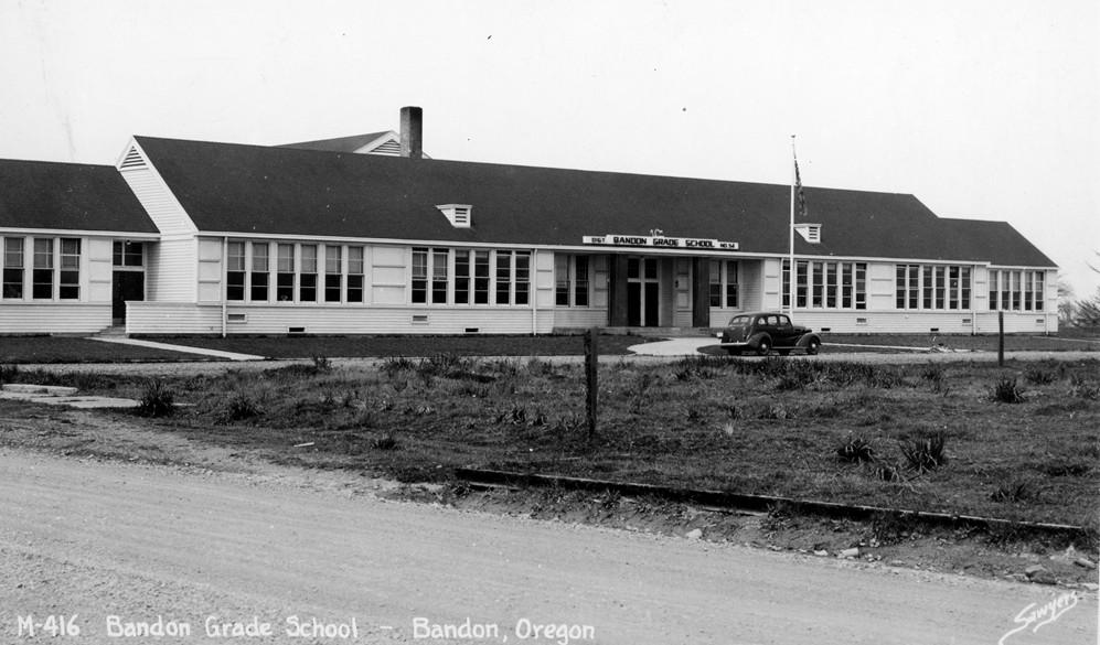 Bandon Grade School, 1940s