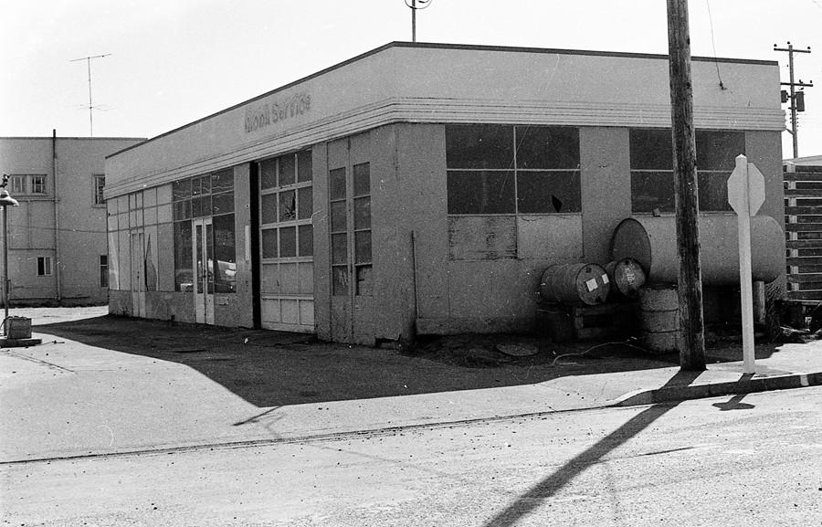 Mobil station 1974