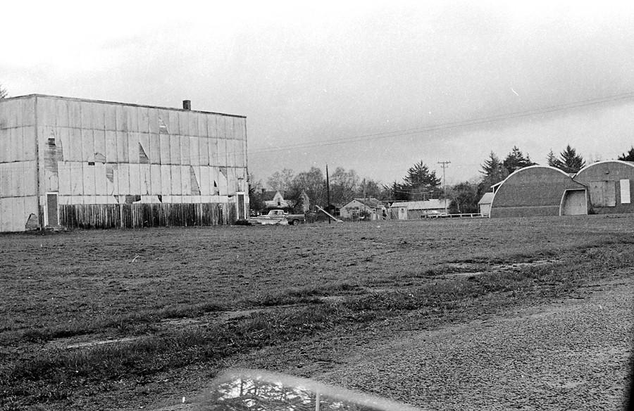 Old gymnasium, 1978
