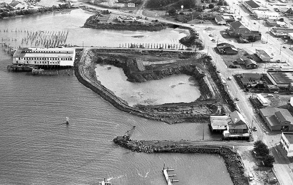 Construction of Bandon Boat Basin