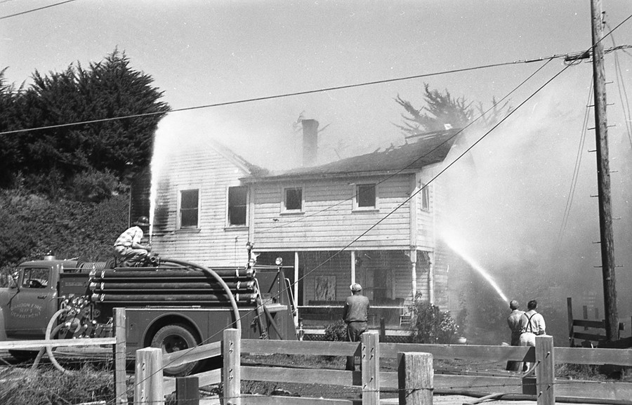 Coates boarding house, 1962