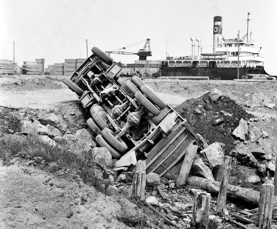 Bandon Boat Basin, 1958