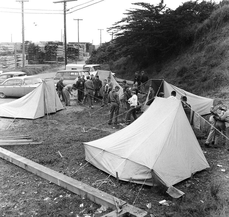 Scout Camporee, 1960