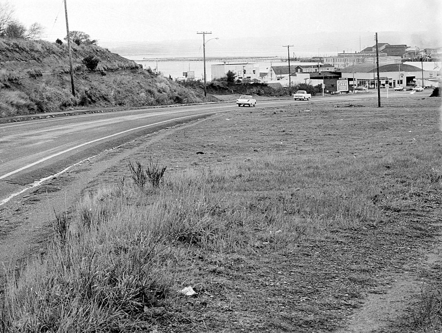 South entrance to town 1966