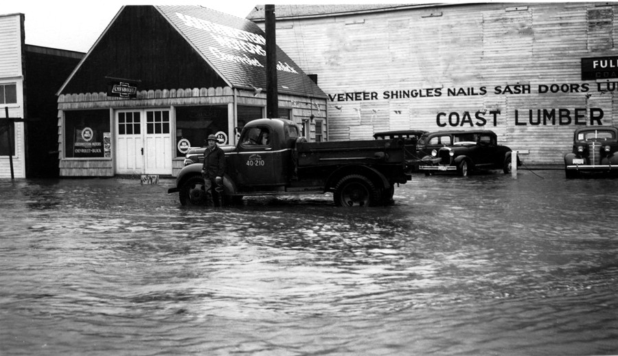 Ferry Creek flood, 1940