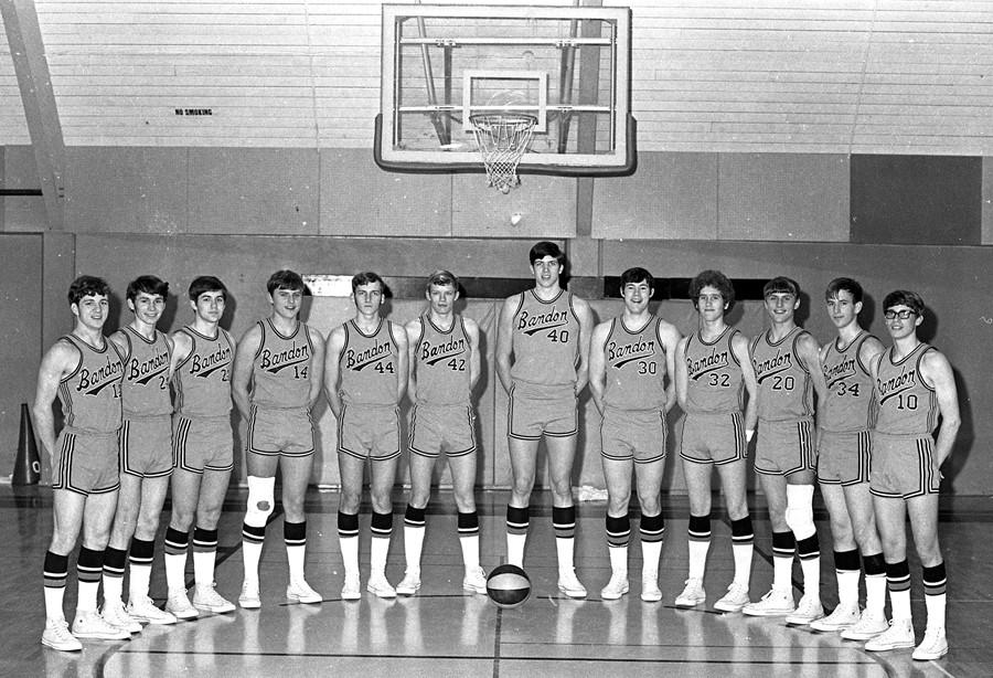 1971-72 BHS basketball team