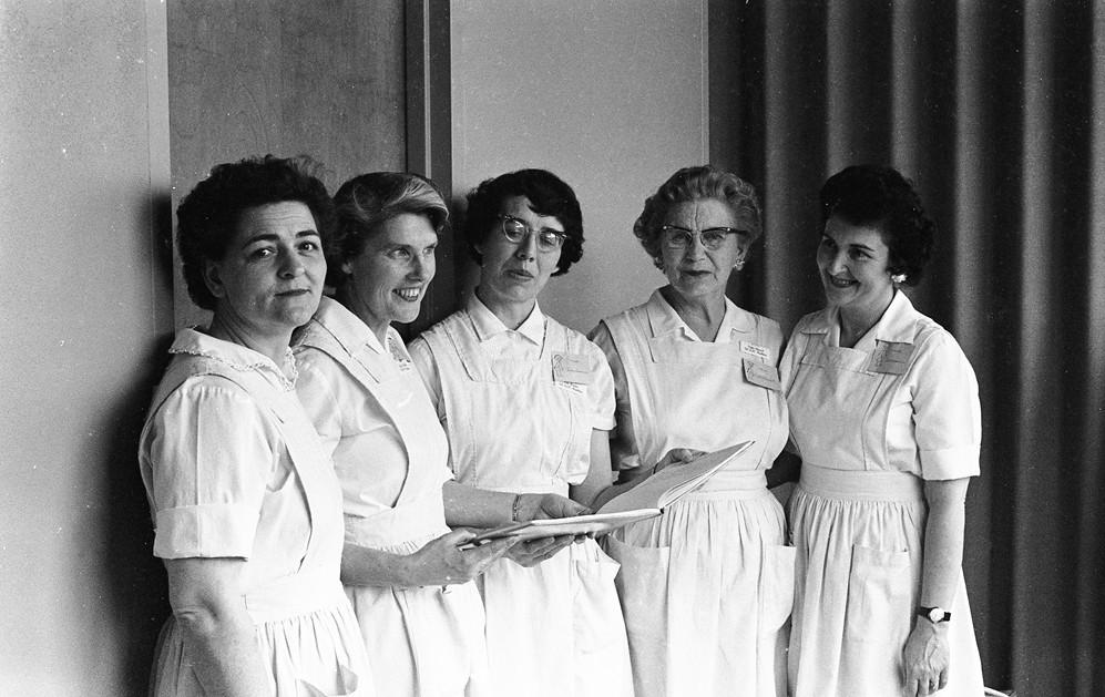 Hospital Auxiliary, 1961
