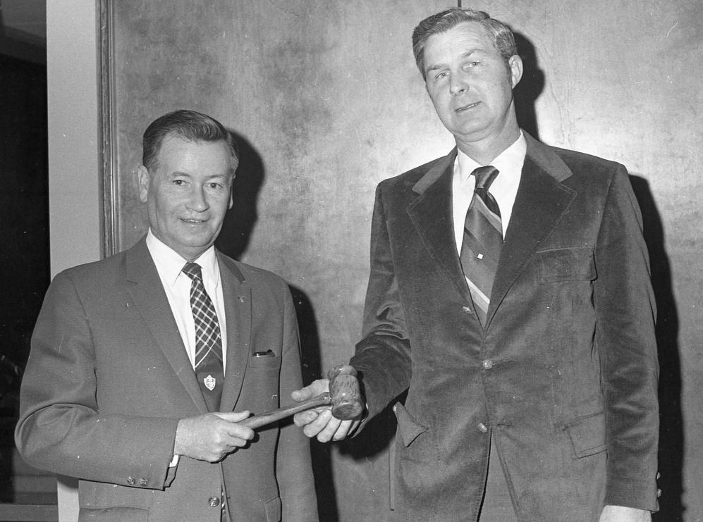 Eddie Waldrop and Don Goddard, 1971