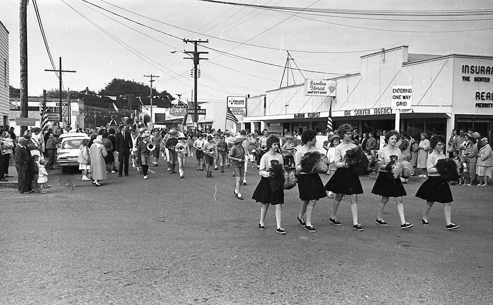 Cranberry Festival parade, 1961