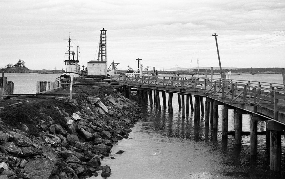 Bandon docks, 1960