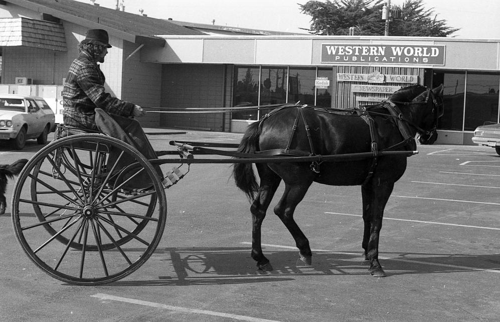 McKay's Market parking lot, 1981