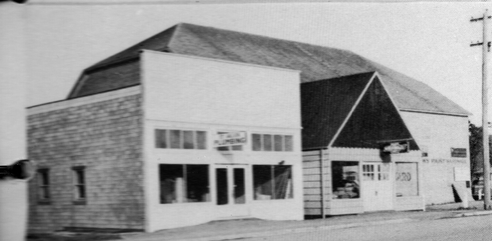 Gallier's plumbing shop, 1942