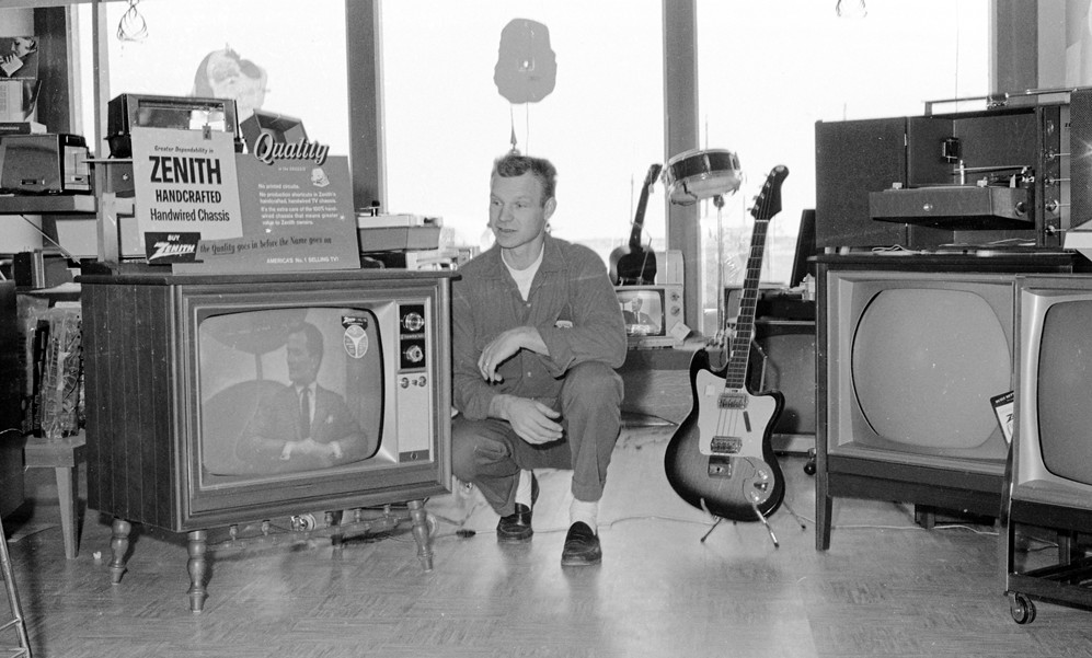 Dave's TV and Radio Shack, 1966