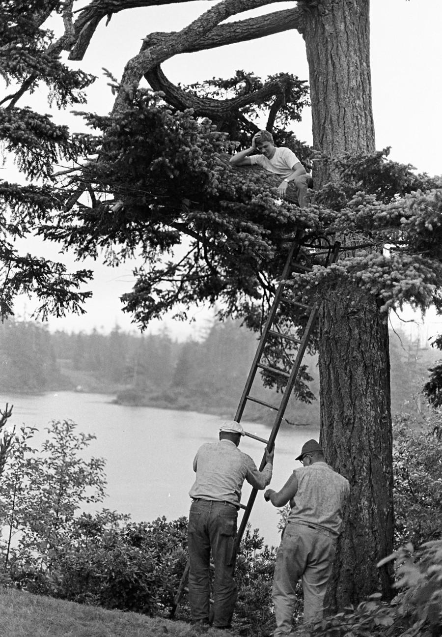 Bradley Lake, 1966