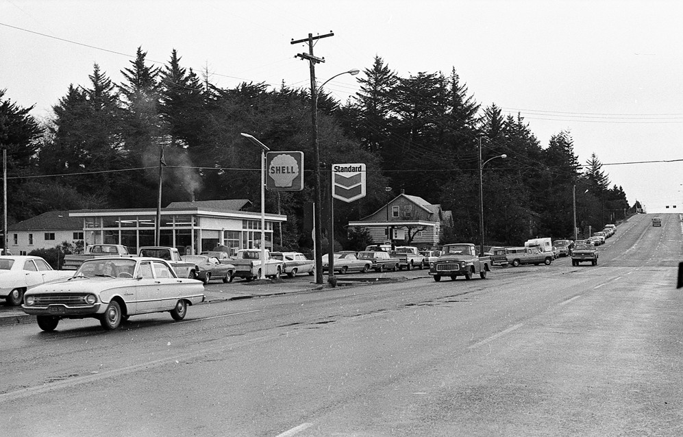 Gas shortage, 1973