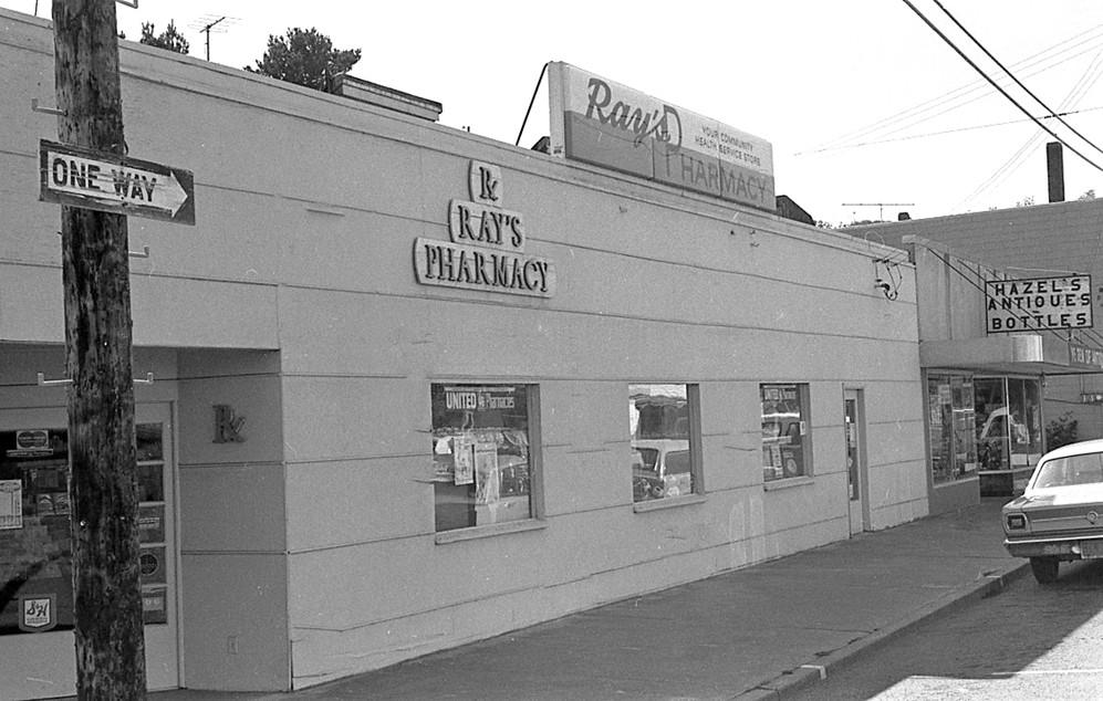 Ray's Pharmacy, 1970