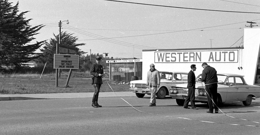 Accident scene 1965