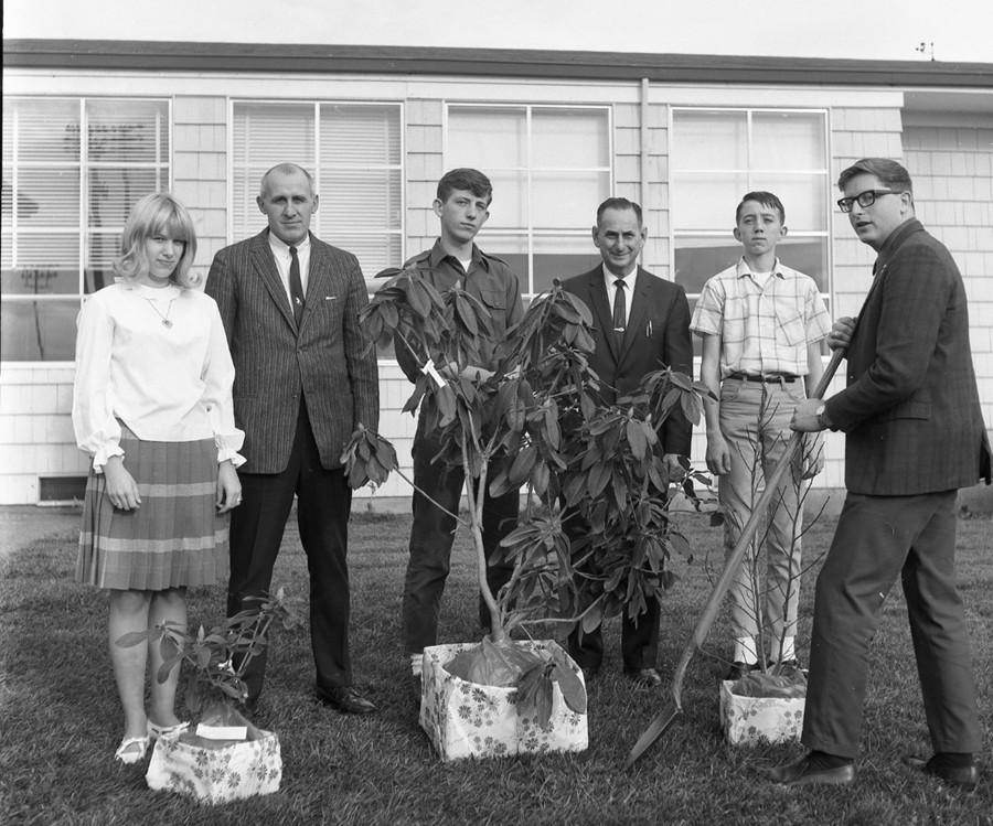 Beautification contest winners, 1966