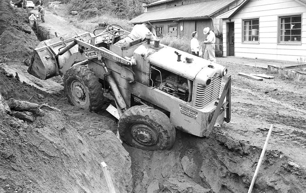 Work along Third Street, 1962