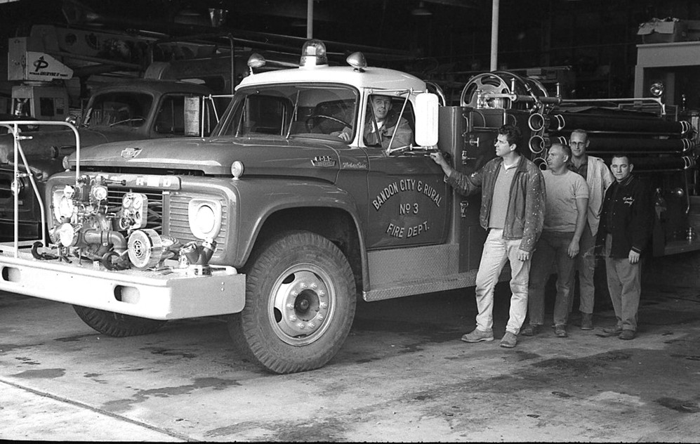 Old fire hall, 1966