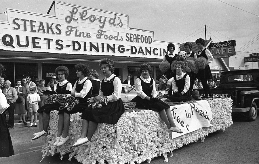 Cranberry festival parade, early '60s