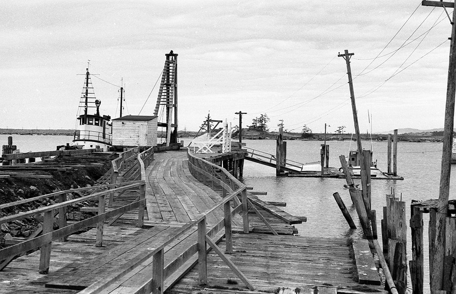 Old city dock, 1960
