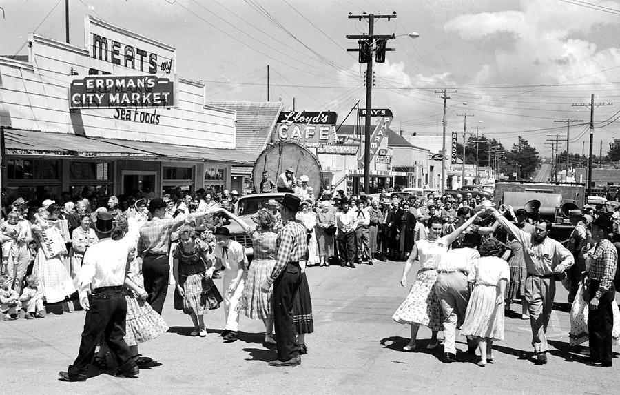 Celebrating Bandon's 100th birthday, 1959