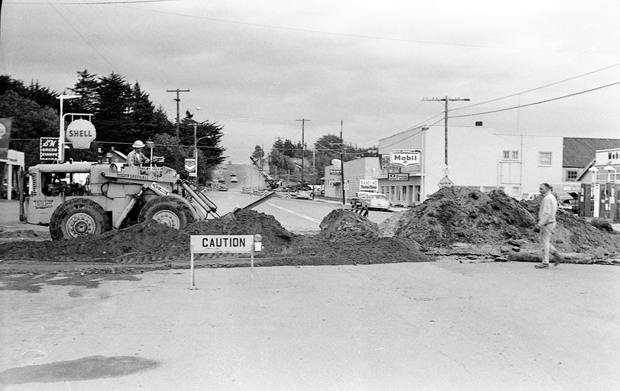 Sewer project work 1962